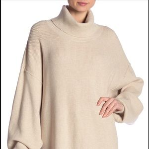 Free people softly structured turtleneck sweater